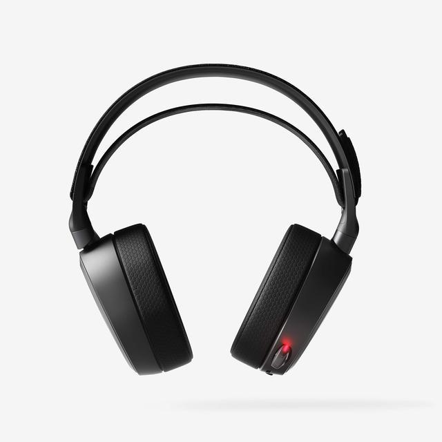 SteelSeries سماعة ألعاب لاسلكية Arctis Pro ، بلوتوث ، دقة عالية ، PS4 والكمبيوتر الشخصي