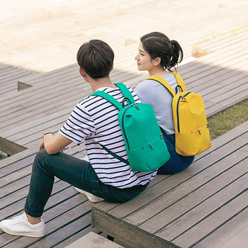 Original Xiaomi Bagpack 10L Casual Sports Chest Bag for Boys and Girls Small Size Shoulder Bag Colorful Backpack