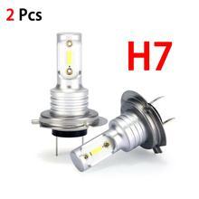 цена на H7 LED Headlight Bulbs Conversion Kit Hi/Lo Beam 55W 8000LM 6000K Super Bright