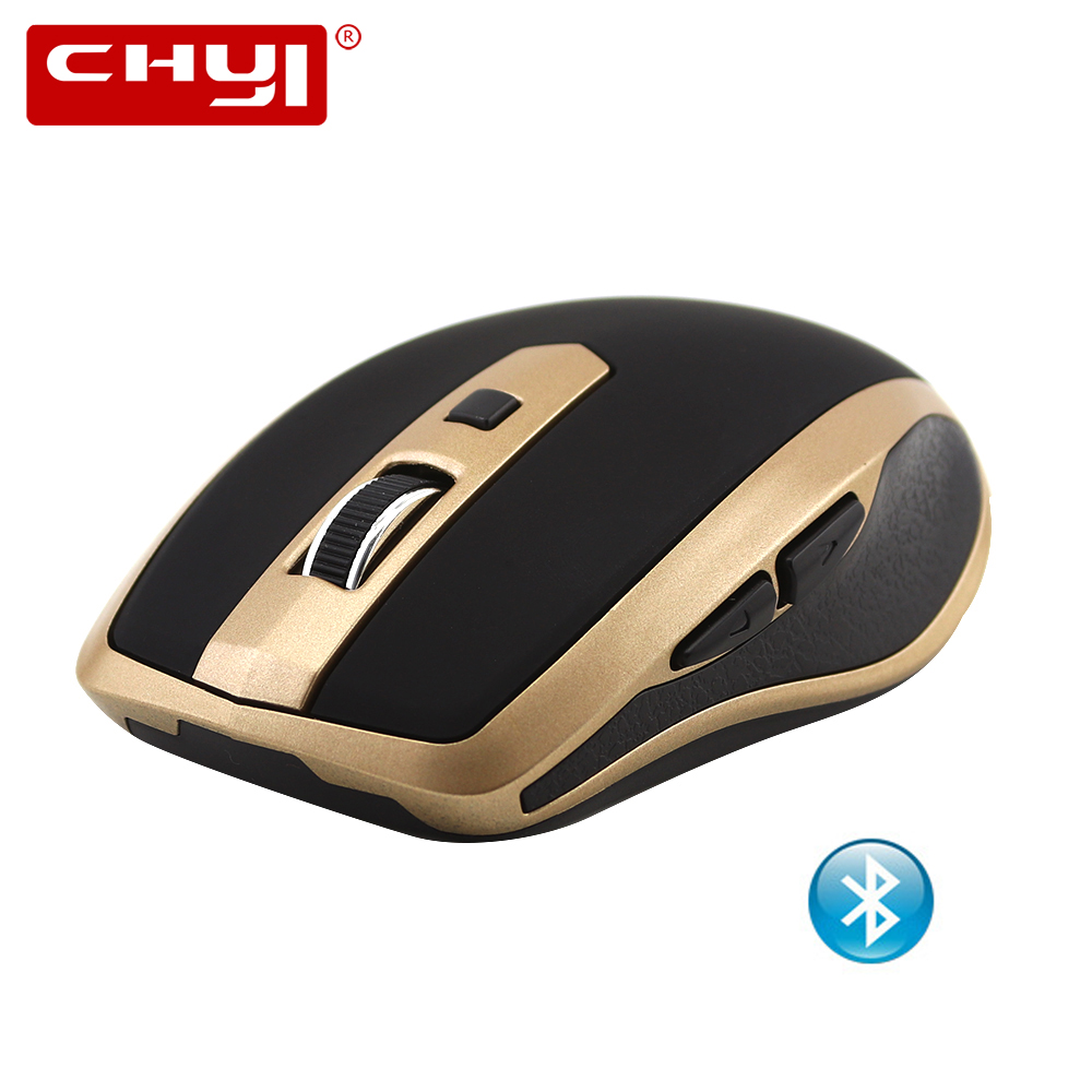CHYI Bluetooth 3.0 Wireless Mouse Cordless Optical Mouse 1600 DPI Computer Ergonomic Gaming Mice For PC Laptop