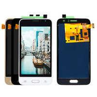LCD Für Samsung J1 2016 display J120 SM-J120F J120M J120H LCD Display Digitizer Touch Screen Können Einstellen Helligkeit LCD
