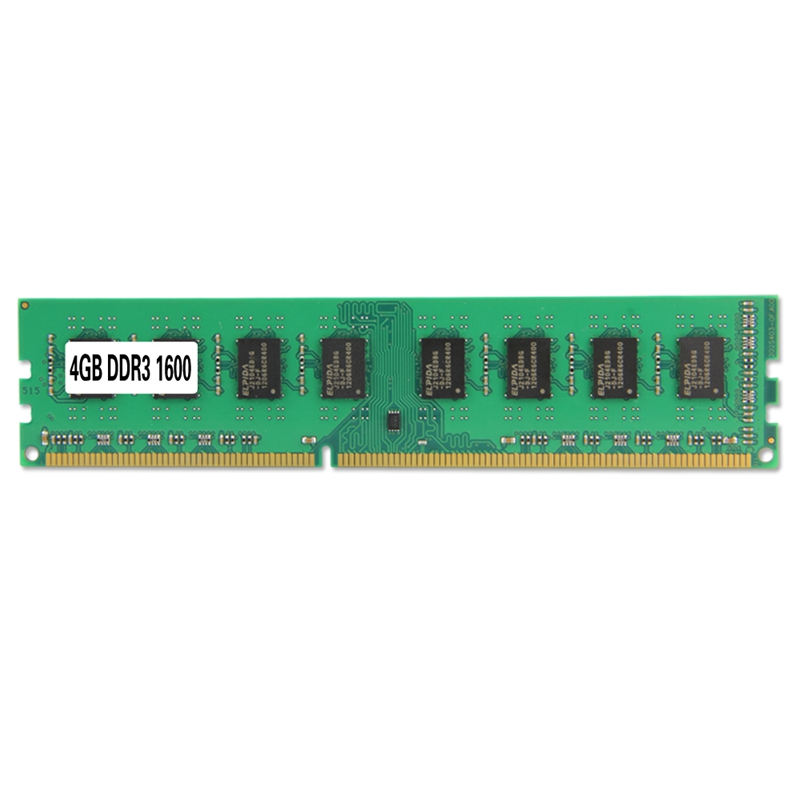 Ddr3 PC3-12800 ram 1600mhz 240pin 1.5v dimm de memória desktop para amd (4g)