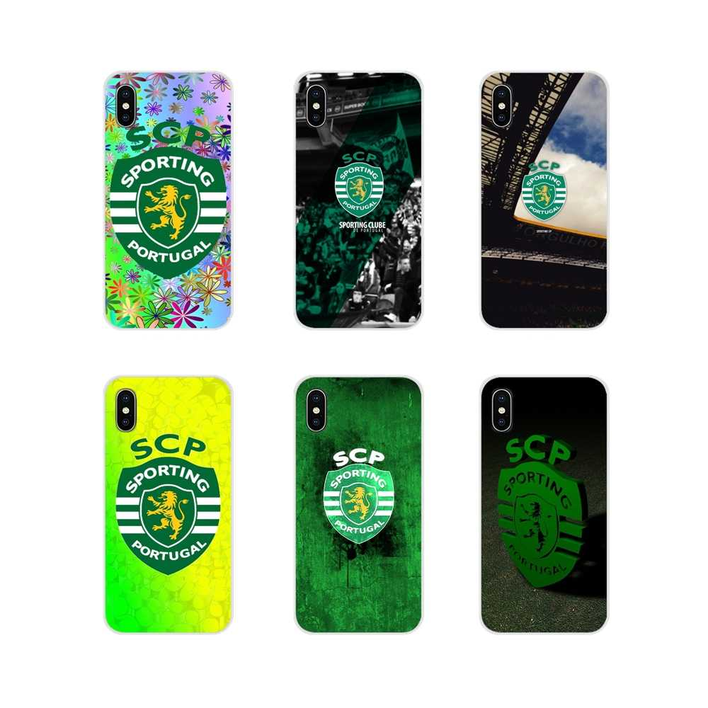Accessoires Telefoon Shell Covers Sporting Portugal Voor Huawei Mate Honor 5X 6X 7 7A 7C 8 9 10 8C 8X 20 30 Lite Pro