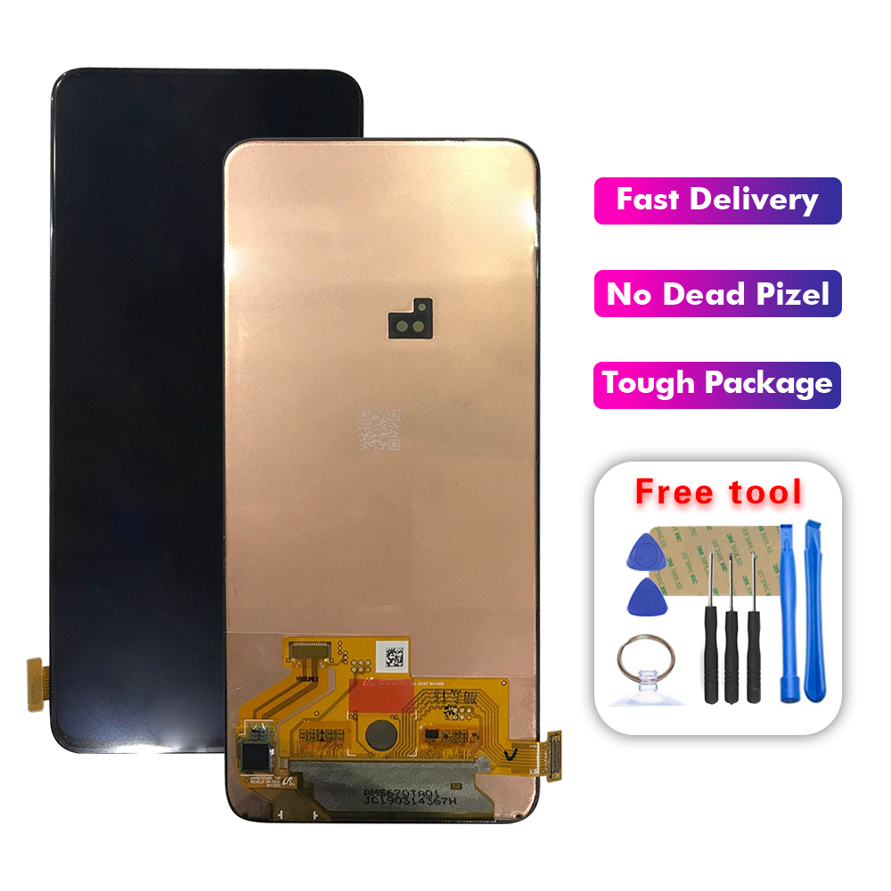 Super Amoled lcd For Samsung Galaxy A80 A805 A90 A905 LCD Display + Touch Screen Digitizer Assembly