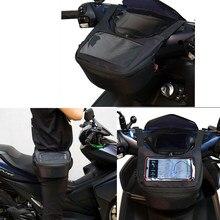 acessório para moto Windscreen motocicleta saco guiador saco do tanque de combustível saco do telefone móvel tela toque fone de ouvido para xmax300 tmax 560 530 vespa gts zx6r r6 r3 ducati