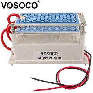 Image 1 - Générateur dozone 220V 10g intégré longue durée plaque en céramique ozoniseur pour leau Air stériliser purificateur traitement Ozone machine