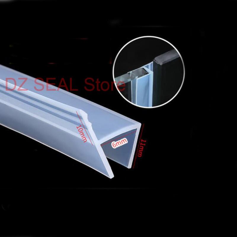 F-blue 8M Large D-Shape Sealing-Strip Car Door Window Trim Edge Moulding Rubber Black Car Door Seal Edge Trim