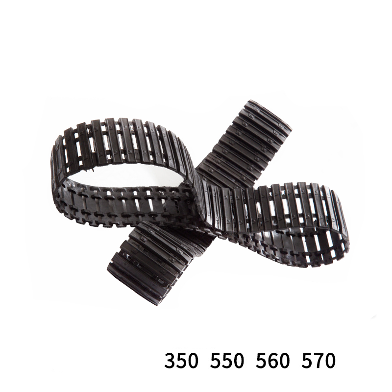 2PCS Huina 350 550 570 560 Caterpillar Track Link Rreeper For HuiNa Excavator RC Car Toys Styling 1/14 15 Channel RC Car Parts