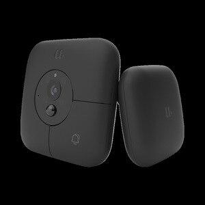 Image 2 - Xiaomi MIJIA חכם פעמון חזותי + מקורה מקלט קול גופנים 1080p 120 ° זווית אינפרא אדום ראיית לילה Xiomi לעבוד עם MIJIA APP