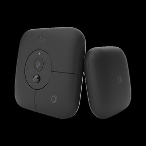 Image 2 - Xiaomi MIJIA Smart Visual Doorbell+Indoor Receiver Voice Fonts 1080p 120° Angle Infrared Night Vision Xiomi Work With MIJIA APP