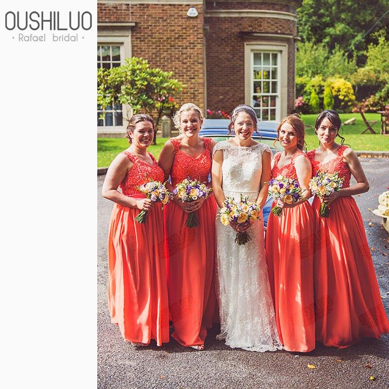 Lace Bridesmaid Dresses Sweetheart
