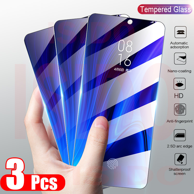 3Pcs Full Cover Tempered Glass For Xiaomi Redmi 8 8A 7 7A 6 6A Screen Protector Redmi Note 8T 8 7 6 5 Pro Protective Glass 9H HD(China)