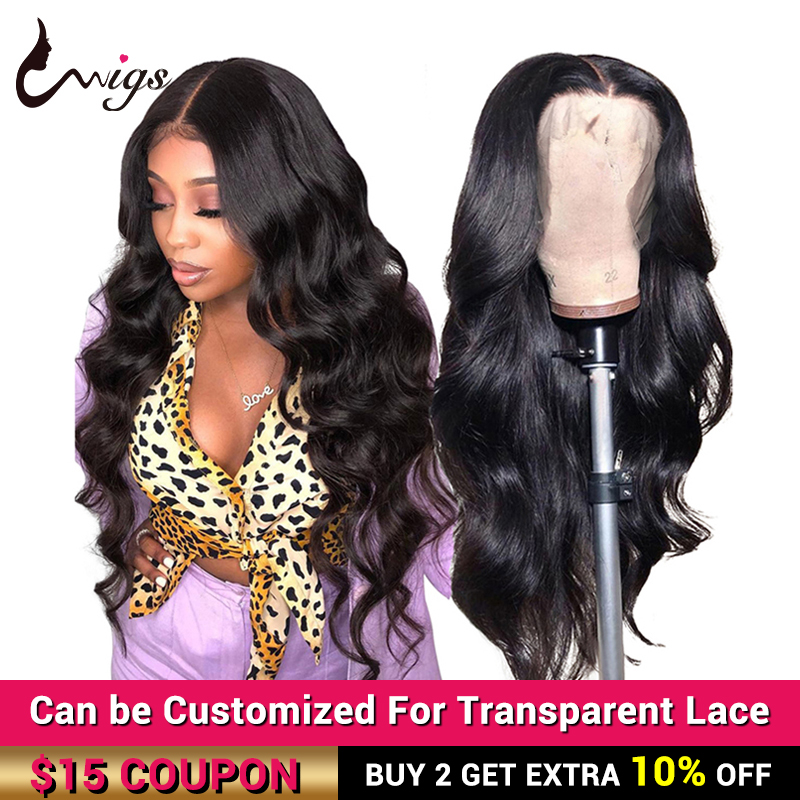 13x6 Lace Front Wig Body Wave Human Hair Wigs 360 Lace Frontal Wig Pre Plucked Uwigs Remy Peruvian Lace Front Human Hair Wigs