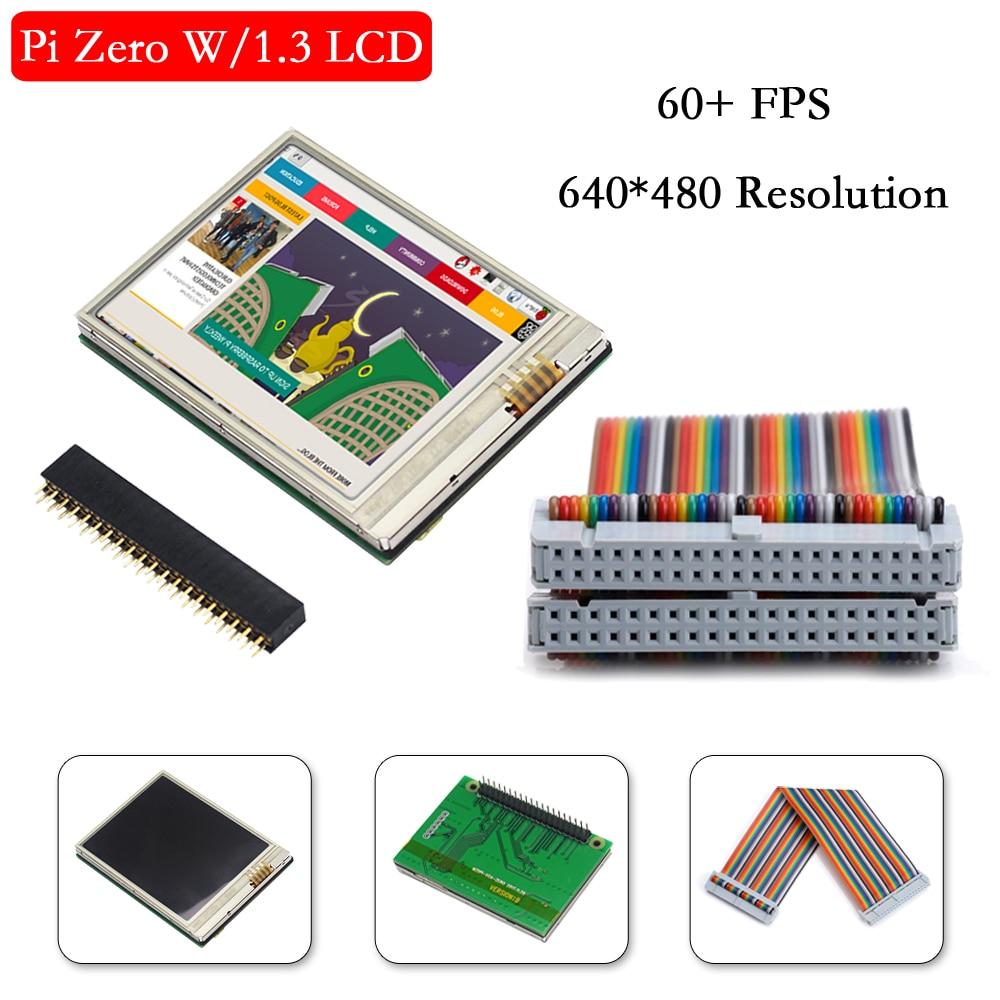 Raspberry Pi Zero W Screen 2.8 Inch Raspberry Pi Zero LCD 640*480 Touch Screen 60+ Fps Display For Raspberry Pi Zero WH Zero 1.3
