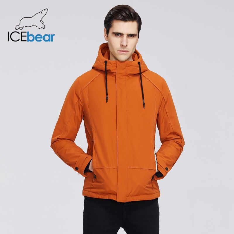 Icebear 2020 เสื้อแจ็คเก็ตผู้ชายแจ็คเก็ตมีฮู้ดคุณภาพสูงผู้ชาย MWC20802D