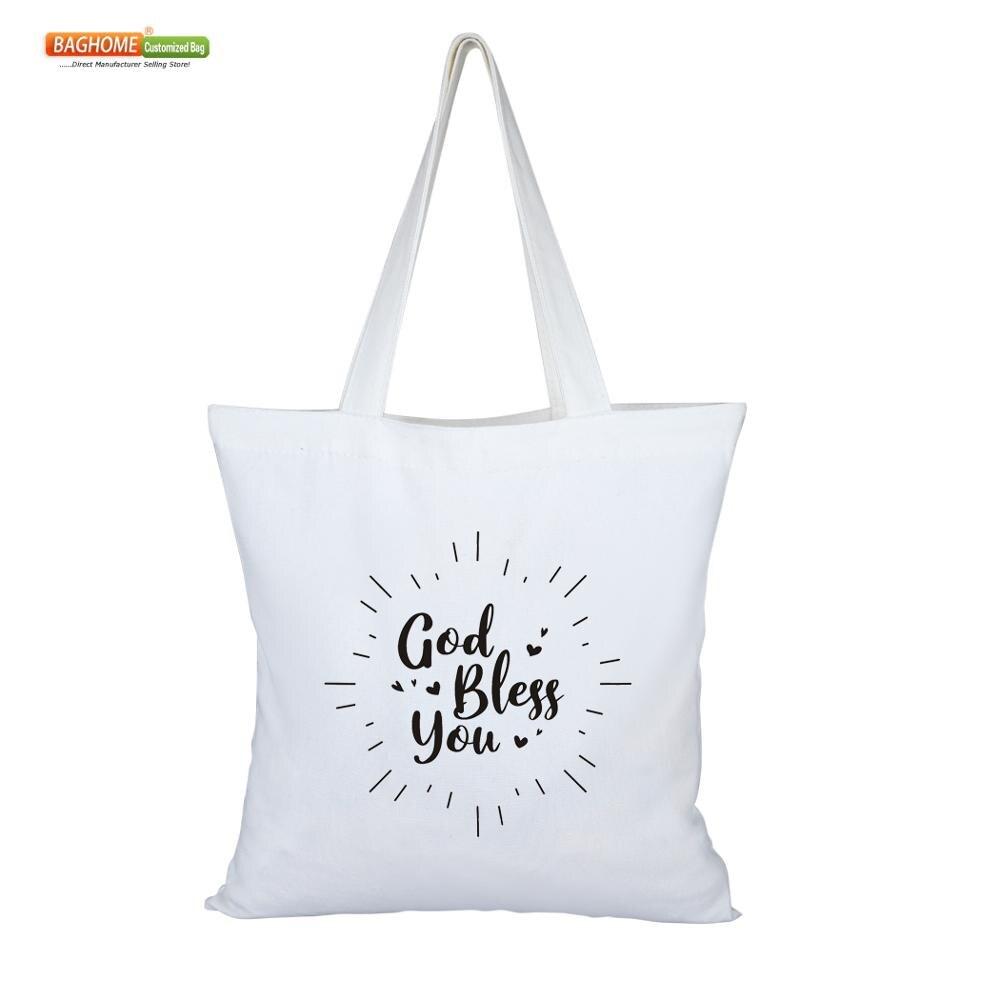 100 adet/grup uzun saplı çevre dostu doğal renk kullanımlık bakkal torbaları 8 oz pamuk kanvas çanta özel baskı logosu