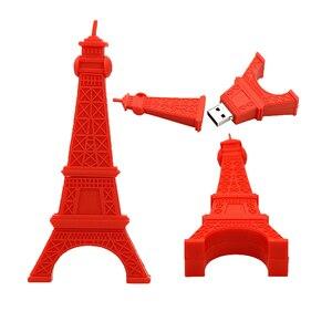 Image 4 - Clé USB Eiffel, tour de liberté, 16 go, 32 go, 64 go, 128 go, USB 2.0, clé USB 256, clé mémoire