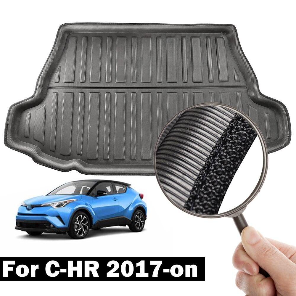 Genuine Toyota Rear Cargo Trunk Luggage Rubber Tray Floor Mat Fit 2018 C-HR CHR
