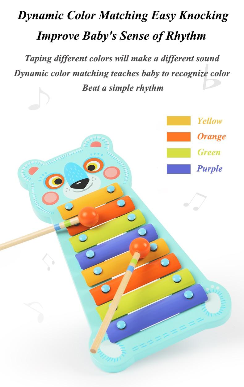 bater no piano música brinquedo
