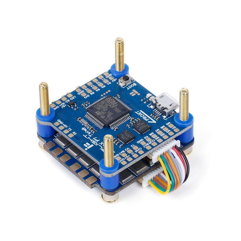 IFlight SucceX F7 V2.1 TwinG FC met SucceX 60A V2 Plus BLHeli 32 DShot1200 4 in 1 ESC FPV flytower Systeem Stack voor FPV Drone - 3
