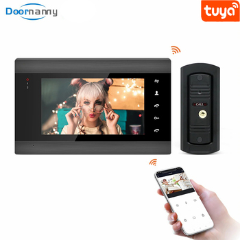 Doornanny 960P Smart Video Intercom System For Home Apartment Video Doorphone To call & Monitor Kit Tuya WiFi Doorbell Camera