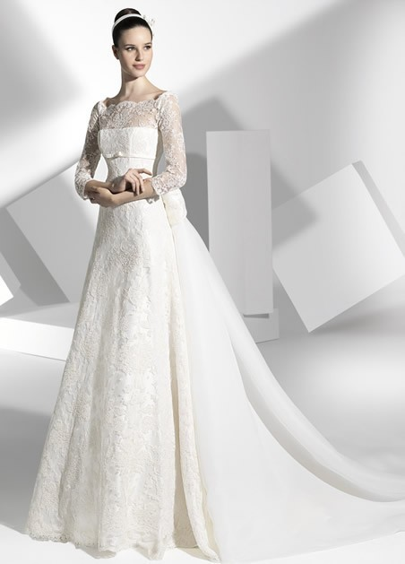 Hot Sale A Line Special Romantic 2018 Sexy Long Sleeves Cap Sleeve Bow Floor Length Bridal Gown Mother Of The Bride Dresses