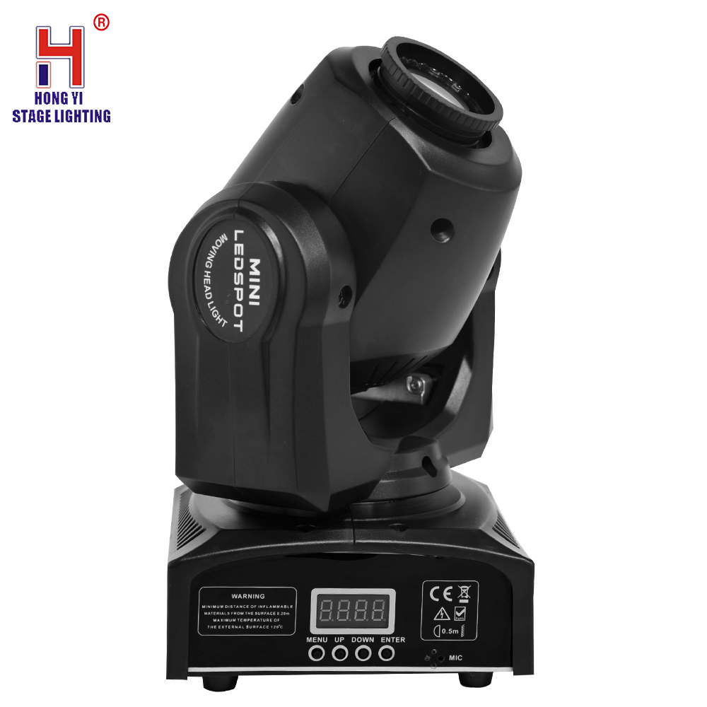 led mini moving head 30W sport light with 7 gobos lights moving di lighting effect - 3