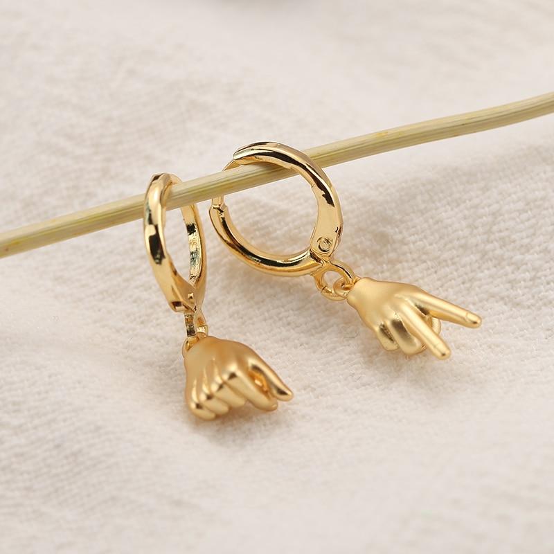 Drop Earrings for Women Charm Gold Star Moon Dangle Earrings 2pcs Copper CZ Korean Earings Boho Fashion Jewelry 2020 Couple