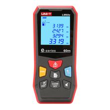 UNI-T LM60e Laser Abstand Meter Handheld Mini Laser-entfernungsmesser Digital LCD Band Palette Finder Diastimeter
