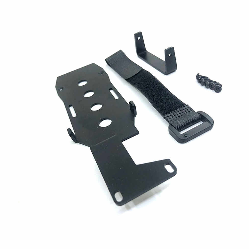 Low LCG Battery Tray DIY Mount Chassis Battery Holder For Traxxas TRX-4 Parts