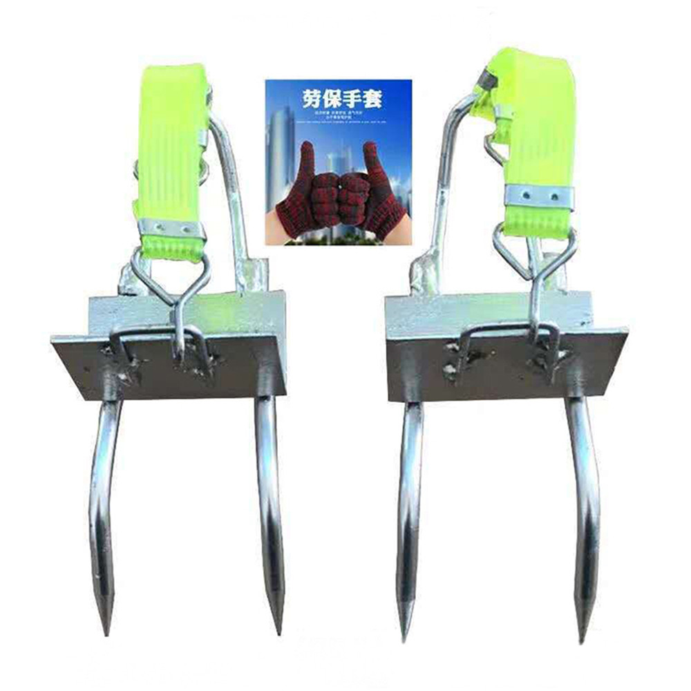 Tree Climbing Tool Five Claws Pole Climbing Spikes For Jungle Survival Hunting Observation Picking Fruit Cat Claw 100kg Load