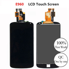 цена на CXHKRR 100% Guarantee For LG Google Nexus 4 Optimus E960 4.7 LCD Display + Digitizer Touch Screen Replacement