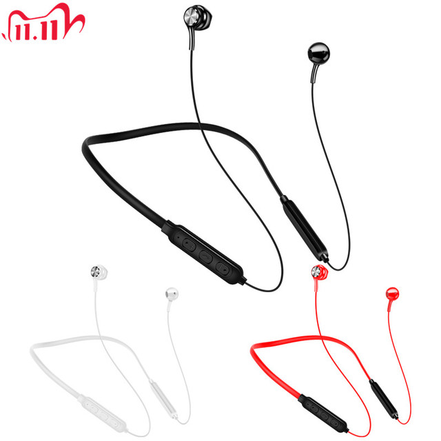 New Wireless Bluetooth Earphones Magnetic Stereo Sports Headset IPX7 Waterproof Wireless Earphones with Mic for Smartphones