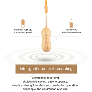 Image 3 - STTWUNAKE Voice recorder Dictaphone pen audio sound mini activated peanut digital professional micro