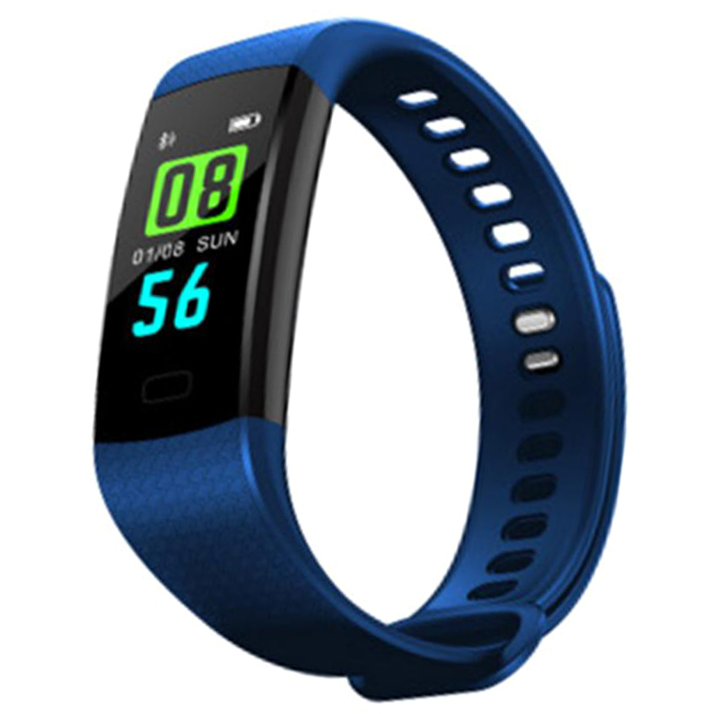 Smart Band Wristband Fitness Tracker Watch Health Heart Rate Blood Pressure Waterproof Smart Bracelet for Men Women Smartband