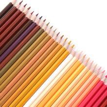 120 pièces/ensemble crayons de couleur crayon professionnel pour peinture crayons de couleur huileux Art peinture crayons de couleur pour cadeau de petite amie