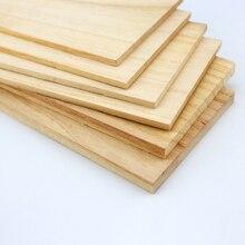 300x100 мм древесина тунга доска 1/2/3/5 мм сплошная деревянная доска модели кабин материал DIY ручной работы маленькая дощечка