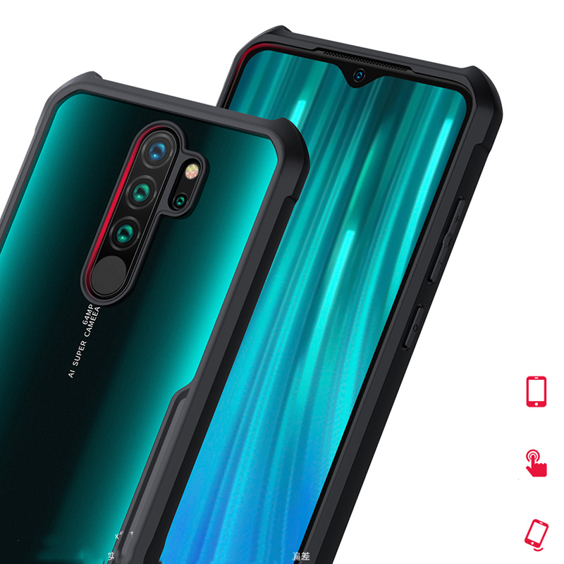 For Xiaomi Redmi Note 8 XUNDD Airbags Shockproof Transparent PC TPU Bumper Back Cover for For Xiaomi Redmi Note 8 чехол XUNDD Airbags Shockproof Transparent PC +TPU Bumper Back Cover for Redmi Note 8 Pro Case Funda