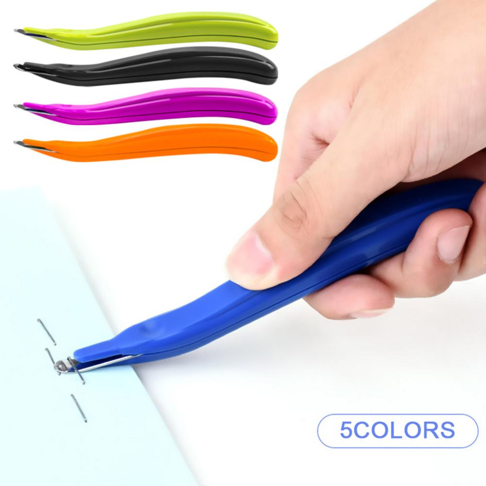 Metal Safe Magnetic Staple Remover Portable Staple Removal Easy Pull Staple Tool For Home Office School Supplies Default Blue