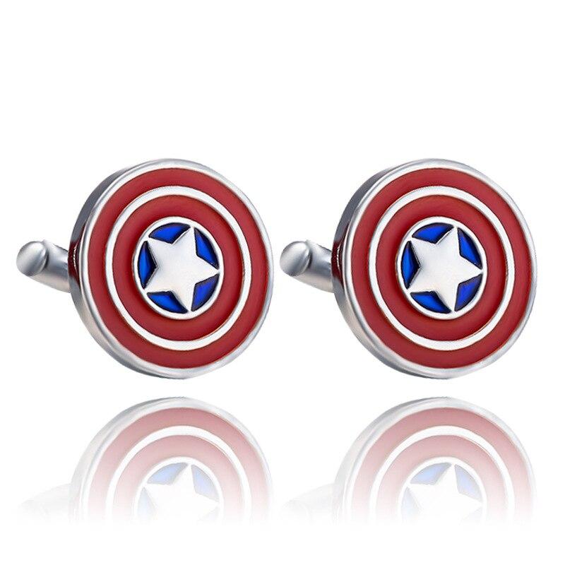 Superhero Twins Superhero Twins Avengers Cufflinks Captain America Thor Button Cufflinks For Men Boys