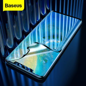 Image 1 - Baseus 2pcs 0.15mm Screen Protector For Huawei Mate 30 20 Pro Protective Glass Film Soft Hydrogel Film For Huawei Mate 30 Pro 20
