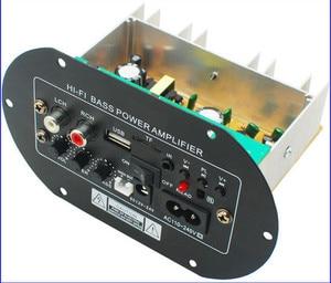 Image 1 - Kyyslb JW A8 100 ~ 200 w 가정용 오디오 차량용 앰프 12v24v220v 발열 클래스 서브 우퍼 전력 증폭기 보드 카드 usb 원격 제어