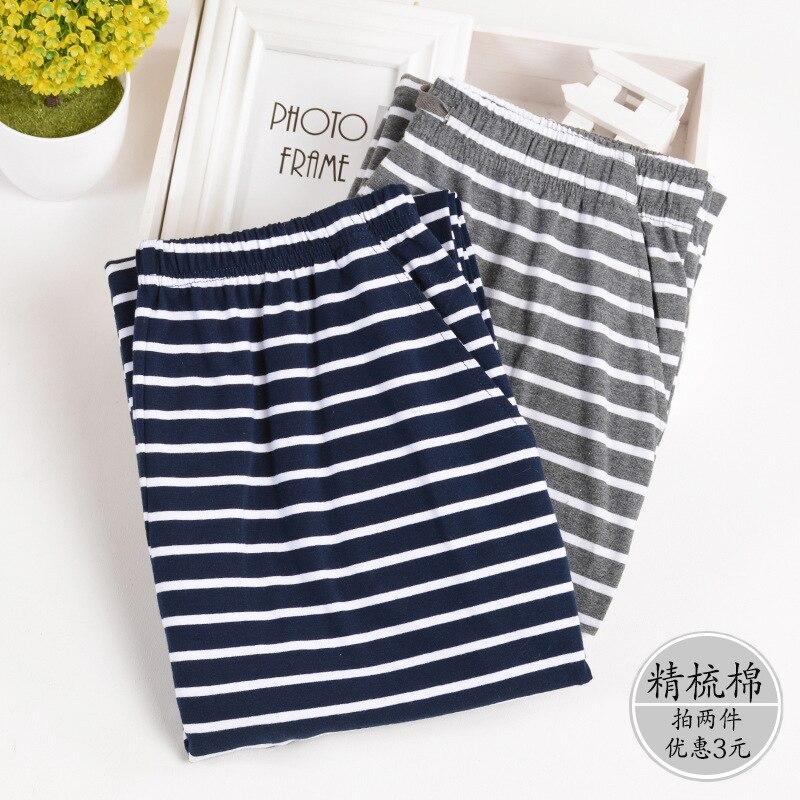 Cotton Material Plus Size L-4xl  Mens Cotton Pajama Pants Lounge Sleep Wear Men 1687