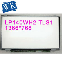 "LP140WH2-TLS1 TLTB LP140WH2 TL S1 LP140WH2 (TL)(S1) Matrix for Laptop 14.0"" HD 1366X768 40Pin LED Screen LCD Display(China)"