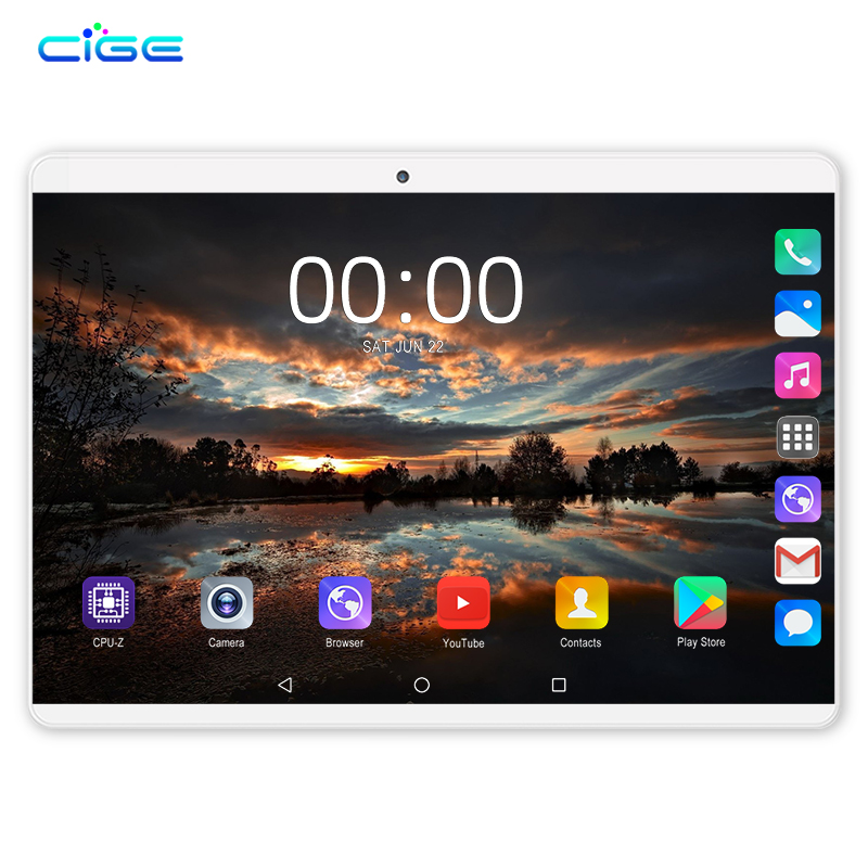 New Original 10.1 Inch 1920x1200 Tablet Pc 10 Core 4G Lte Phone Call Google Market WiFi FM 10.1 Tablets 6G+64G Android 9.0
