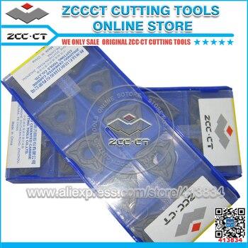 цена на 10pcs ZCC.CT carbide inserts WNMG080412 -DM YBC252 ZCCCT WNMG 080412 DM cnc turning tool cutter plate  WNMG080412-DM
