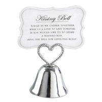 30 Pieces of Kissing Bell Silver Bell Seat Card / Photo Clip Wedding Table Decoration Like Wedding Decoration