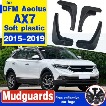 4PCS Mud Flaps For DFM Dongfeng Aeolus AX7 2015 2016 2017 2018 2019 Mudflaps MudFlap Splash Guards Fender Mudguards Front Rear