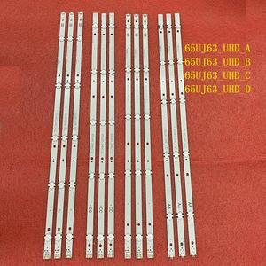 Image 2 - 12 PCS/set LED backlight strip for LG 65UJ6300 65UJ630V 65UJ634V 65UJ5500 65UK6100 Innotek 17Y 65inch_A SSC 65UJ63_UHD_A B C D