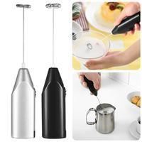Mini Electric Coffee Blender Handheld Eggbeater Stainless Steel Milk Milker Bubble Drink Stir Bar Creative Kitchen Cooking Tools|Blenders| |  -